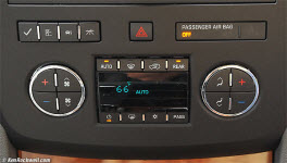 Vehicle Climate control controls